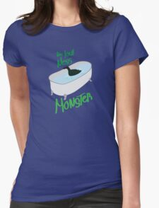 Monster Ness Womens Fitted T-Shirt