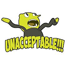 Lemongrab unacceptable Photographic Print