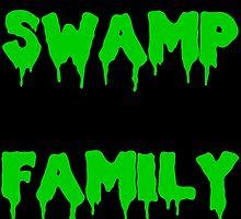 Swamp Family by TheIzzySquishy