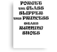 This Princess Wears Running Shoes Metal Print