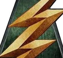 CW Arrow and The Flash Crossover Symbol Shirt Sticker