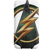 CW Arrow and The Flash Crossover Symbol Shirt Samsung Galaxy Case/Skin
