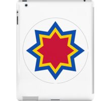 Roundel of the Moldovan Air Force  iPad Case/Skin