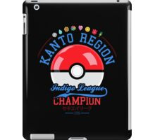Kanto region champion iPad Case/Skin