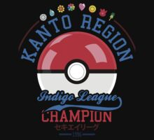 Kanto region champion by SxedioStudio