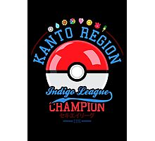 Kanto region champion Photographic Print
