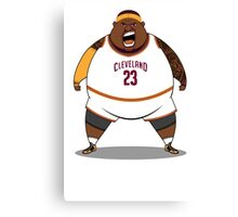 FATTTY Bron in Away Whites Canvas Print