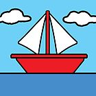 The Simpsons Sailboat by FinlayMcNevin