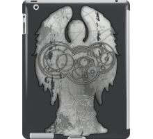 Weeping Angel Design with Circular Gallifreyan iPad Case/Skin