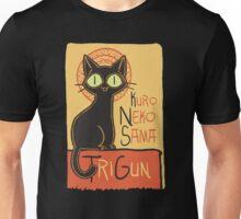Kuro Neko Unisex T-Shirt