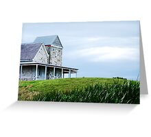 Lighthouse keepers house - Cape Otway Greeting Card