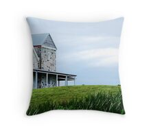 Lighthouse keepers house - Cape Otway Throw Pillow