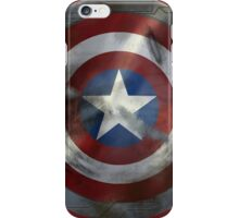 Worn Steve & Bucky Shield iPhone Case/Skin