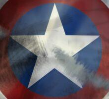 Worn Steve & Bucky Shield Sticker