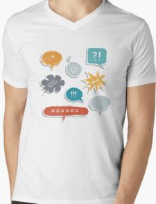 love(ly) bubble set Mens V-Neck T-Shirt
