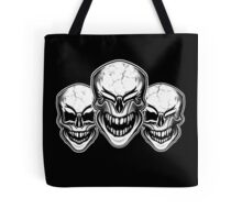Laughing Skulls Tote Bag