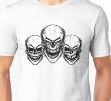 Laughing Skulls Unisex T-Shirt