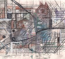 CIRCUITRY AND MACHINERY(C1997) by Paul Romanowski