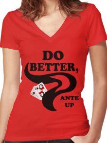 Do Better Women's Fitted V-Neck T-Shirt
