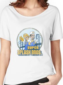 Super Splash Bros  Women's Relaxed Fit T-Shirt