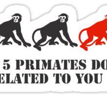 150 Primates Sticker