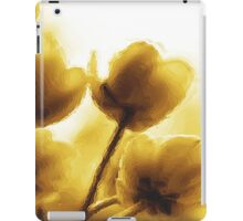 Sepia Tulips iPad Case/Skin