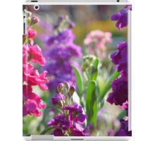 Flowers ! iPad Case/Skin