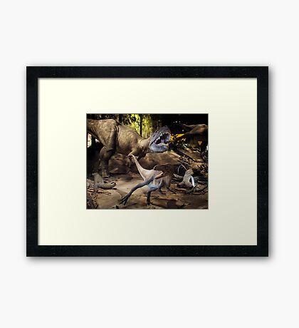 Tyrannosaurus Rex @ Royal Tyrrell Museum of Palaeontology Framed Print