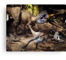 Tyrannosaurus Rex @ Royal Tyrrell Museum of Palaeontology Canvas Print