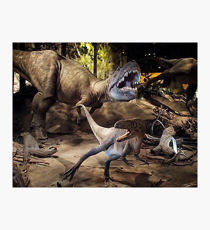 Tyrannosaurus Rex @ Royal Tyrrell Museum of Palaeontology Photographic Print