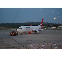 TAXI OUT TO RUNWAY Photographic Print