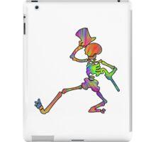 Grateful Dead Dancing Skeleton Trippy iPad Case/Skin
