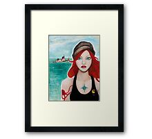 What the Sea gave me Framed Print