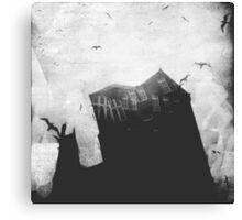 Spooky house in Dublin! Canvas Print