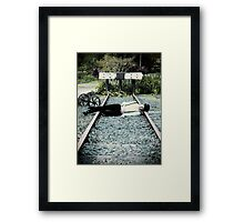 Dead Like Me Framed Print