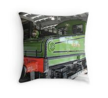 The Electric Engine Throw Pillow