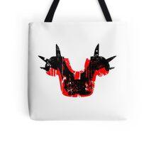 Shoulder Pads of Doom 2000 Design (White) Tote Bag