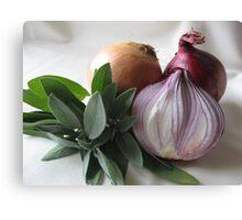 Sage & Onion Canvas Print