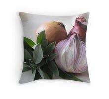 Sage & Onion Throw Pillow