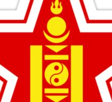 Roundel of the Mongolian Air Force Sticker