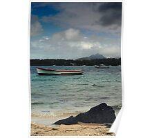 Mauritius Seascape Poster