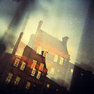 Dublin - window view  by Tomasz-Olejnik