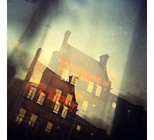 Dublin - window view  Photographic Print