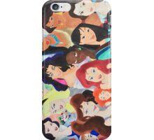 Disney girls  iPhone Case/Skin