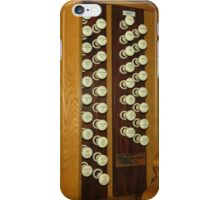 Keyboard and Woodwind Music Collage iPhone Case/Skin