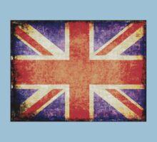 Vintage flag of United Kingdom Kids Clothes