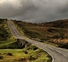 The Road to Two Bridges, Dartmoor National Park by Matthew Walters