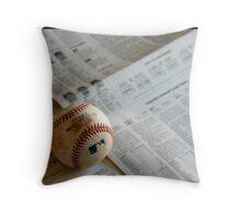 I love baseball Throw Pillow