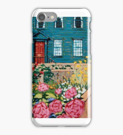 Willow Street Garden iPhone Case/Skin