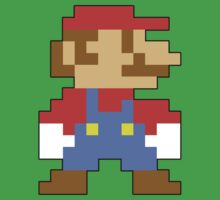Super Mario 3D World Mario Sprite One Piece - Short Sleeve